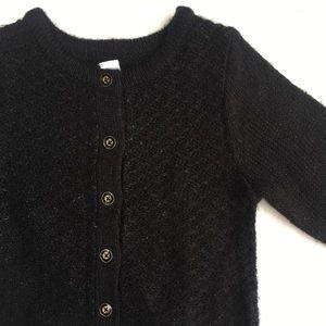 Baby girl black cardigan 🖤
